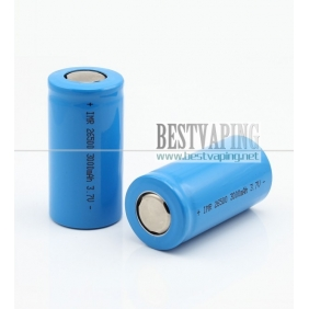 Wholesale IMR 26500 3000mah rechargeable 3.7V Li-Mn Batteries (1pc)