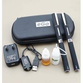 Wholesale 1300mAh Ego-FP E-cigarette General Flavor High Content with Portable Bag Black