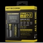 Wholesale New Arrival lcd Nitecore digicharger D2 charger IMR/Lifepo4/NiMh