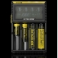 Wholesale New hot!!! Nitecore charger Nitecore D4 lcd charger 4 bay charge